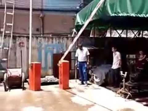Testing of WQH Barrier gate .