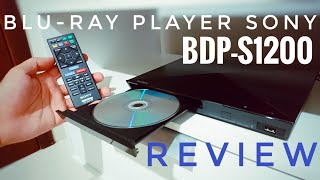 BLU-RAY PLAYER SONY BDP-S1200 | REVIEW
