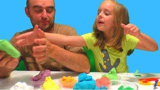 КАК можно ЭТО не Угадать? ЗЕФИР ЧЕЛЛЕНДЖ  Видео для детей Кинетический пластилин Zephyr