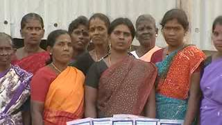 Aqua feed development by women self help groups – India