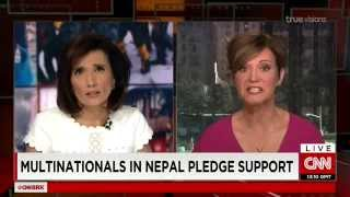 CNN Breaking News - Earthquake in Nepal - April 28,2015