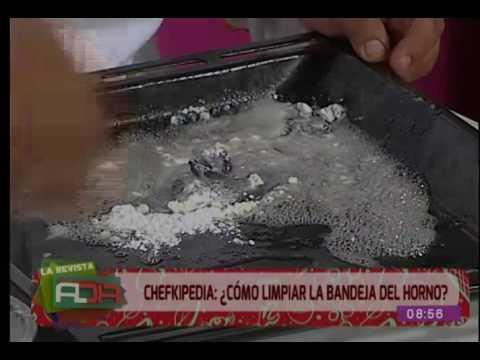 Chefkipedia: ¿Cómo limpiar la bandeja del horno?