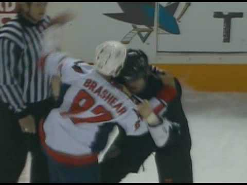 Donald Brashear vs Jody Shelley