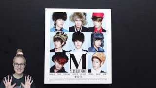 Unboxing Super Junior-M 슈퍼주니어 M 2nd Mini Album Perfection 太完美
