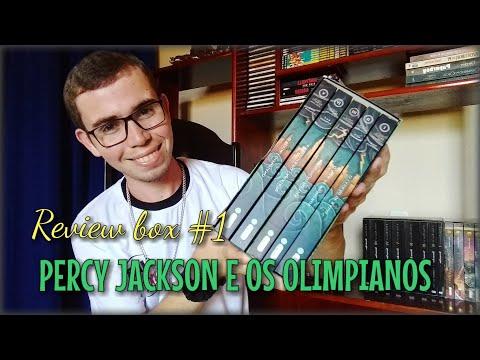 Box Review #1: Percy Jackson e Os Olimpianos