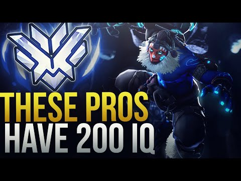 WHEN PROS ACTUALLY MAKE 200 IQ PLAYS - Overwatch Montage