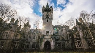 ALMOST DIED AT ABANDONED HAUNTED MANSION, Noisy Castle