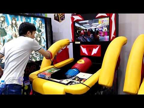 Sonic Blast Heroes Arcade Game Punch Machine