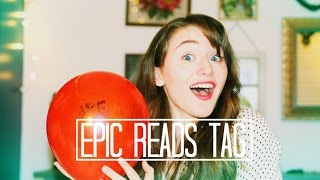 Epic Reads Book Tag - Video Youtube