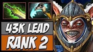 Rank #2 Meepo in Dotabuff named Ink | Dota Gameplay 7.14