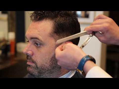 HAIRCUT TUTORIAL| CLASSIC MENS HAIRCUT| Men's ... - YouTube