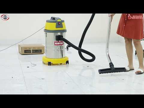 Review máy hút bụi công nghiệp Kumisai KMS30