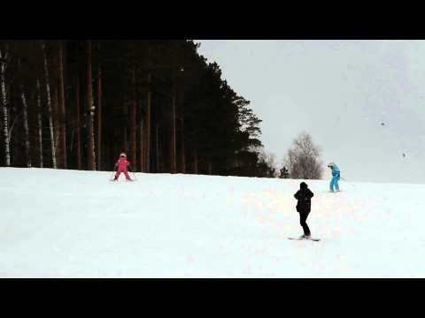 Видео: Видео горнолыжного курорта Исеть в Свердловская область
