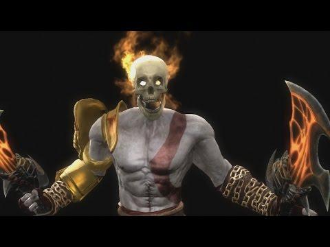 Mortal Kombat 9 - Kratos Fatalities (PS3) - смотреть онлайн на Hah Life