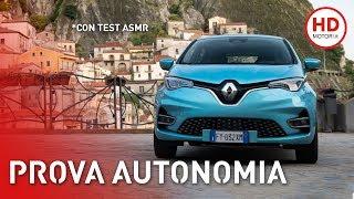 Renault ZOE 2020: AUTONOMIA, consumi REALI e prova 52 kWh | ASMR