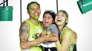 Austin's Family Gets Slimed!   Partners in Slime   HiHo Kids