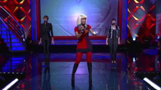 Nicki Minaj ,HD,  Right Thru Me ,Live on Regis and Kelly , 2010,HD 720p