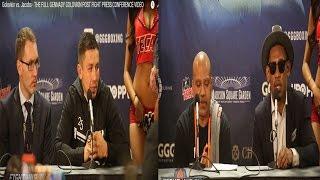 После боя  Головкин и Джейкобс поделились впечатлениями друг о друге/Golovkin vs Jakobs.