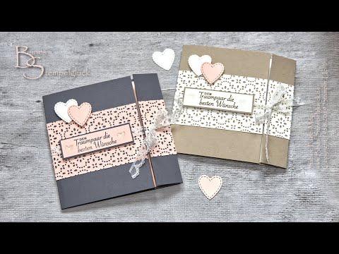 """Hochzeitskarte """"Garten der Liebe"""" selbst basteln • Wedding Card • Stampin' Up!"""