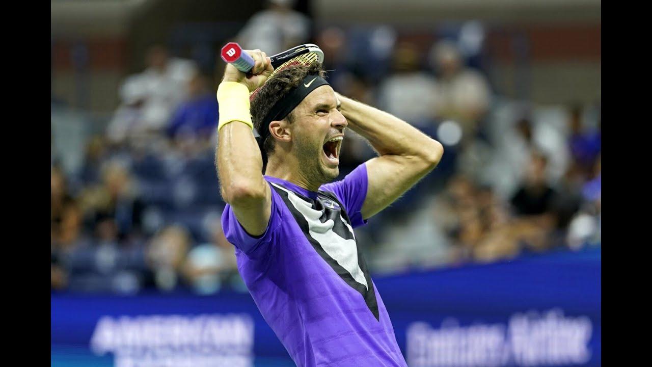 Roger Federer vs. Grigor Dimitrov | US Open 2019 Quarter-Finals Highlights