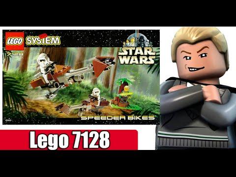 Lego Star wars 7128 (Speeder bikes)