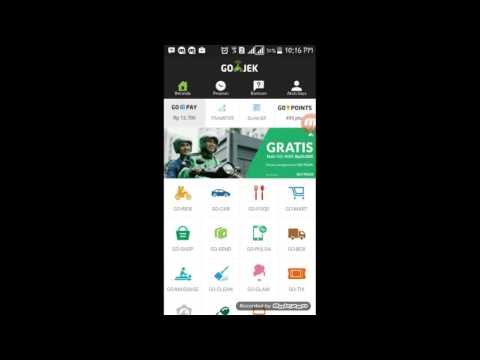 Video Cara Mengisi Go PAY di Aplikasi GO JEK