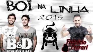 Boi na Linha 2015- Fabricio Ferrari e Bruninho e Davi