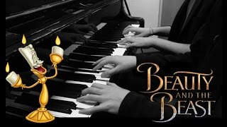 Beauty And The Beast 4 Hands Piano Cover || Atomic Melody