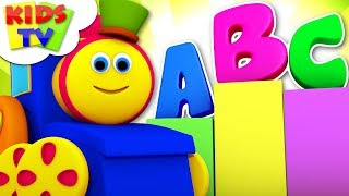 ABC Song | Alphabets Song For Kids | Learn Alphabets | Nursery Rhymes | Baby Rhyme By Bob The Train