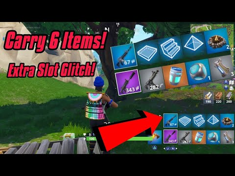 Extra Inventory Slot Glitch In Fortnite (Carry 6 Items) Fortnite Glitches Season 6 PS4/Xbox one 2018