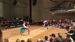 World Masters Boogie Woogie 2017 Semi Final Heat 3 Nils & Bianca