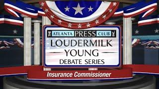 Insurance Commissioner Debate 2014