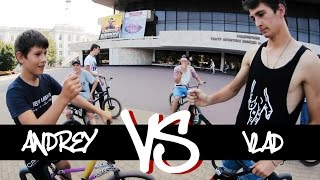 GOB #4 - ANDREY vs VLAD  | SATAN SHOP | GAME OF BIKE | ODESSA BMX