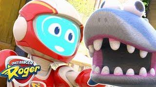 Space Ranger Roger | Roger Saves the Shark | HD Full Episodes 26 | Cartoons For Children