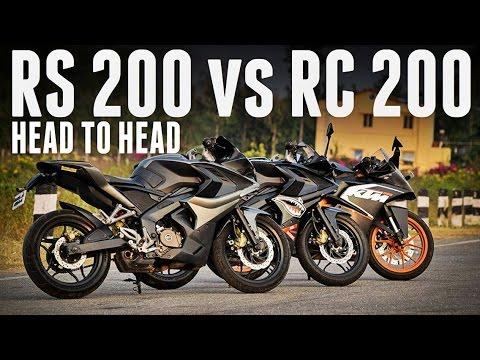 BAJAJ PULSAR RS 200 VS KTM RC 200 | KARŞILAŞTIRMA | KULLANICI