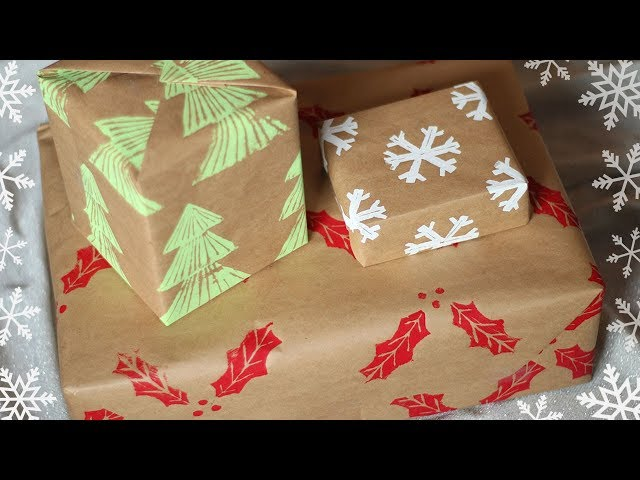 Christmas archives essyjae this is a great way to make your gift wrapping more personal and special this christmas it also works great for other occasions such as birthdays solutioingenieria Gallery
