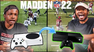 Madden 22 But... We Switch Consoles At Halftime!