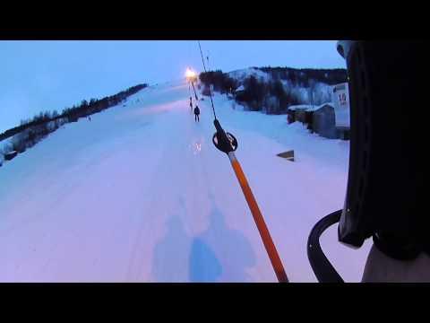 Видео: Видео горнолыжного курорта Южный Склон в Мурманская область