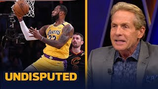 Skip Bayless gives LeBron James an 'A+' for his performance against the Cavaliers | NBA | UNDISPUTED