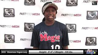 2022 Shawnese Hogue-Lacy Athletic Catcher Softball Skills Video - Lady Magic