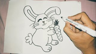 Menggambar Kelinci Lucu मफत ऑनलइन वडय