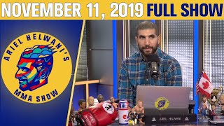 "Dwayne ""The Rock"" Johnson, Nick Diaz    Ariel Helwani's MMA Show (November 11, 2019)   ESPN MMA"