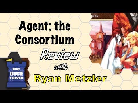 Dice Tower Reviews - Argent: The Consortium - w/ Ryan Metzler
