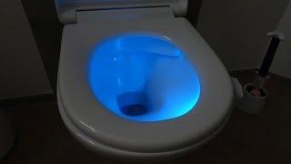 LED WC / TOILETTENBELEUCHTUNG ... oder DAS NACHTLICHT FÜR EUER KLO [GADGET]