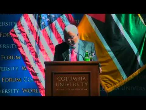 World Leaders Forum: Armando Emílio Guebuza, President of the Republic of Mozambique