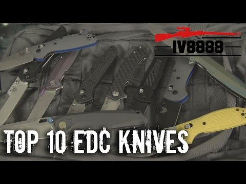 Top 10 EDC Knives