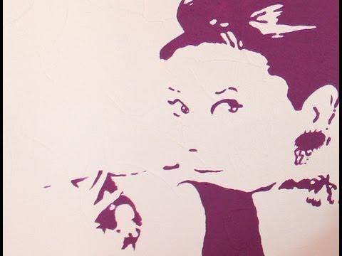 Audrey Hepburn selbst gemacht