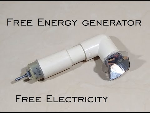 Free Energy Generator – Free Electricity – Free Electricity for Life – DIY