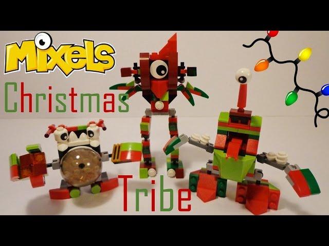 Lego Instructions Mixels Christmix Tribe Lego Mixels King Nixel