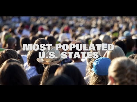 Top 10 Most Populated US States 2014